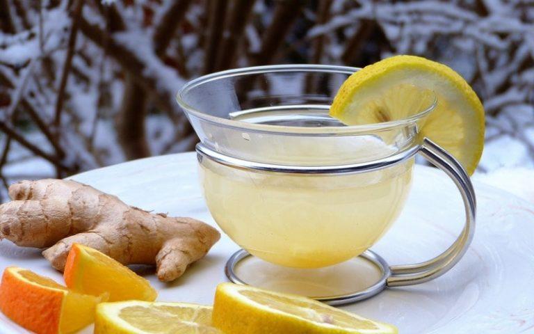 Как сделать напиток с имбирем и лимоном  545