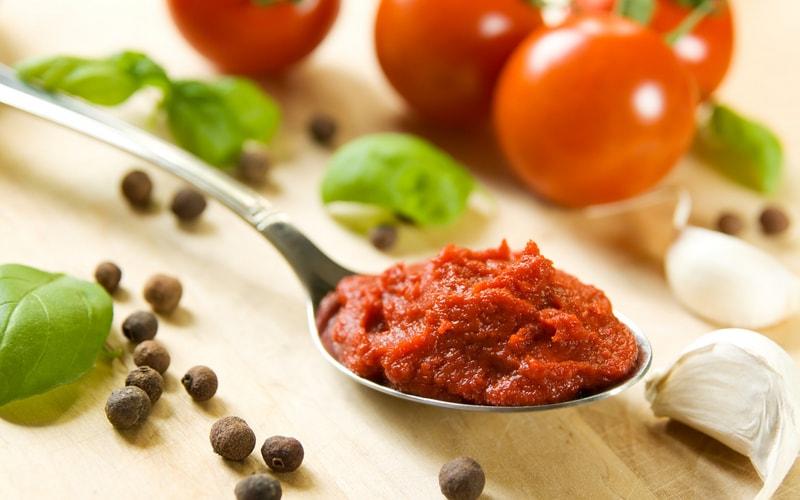 Сколько грамм томатной пасты в столовой ложке