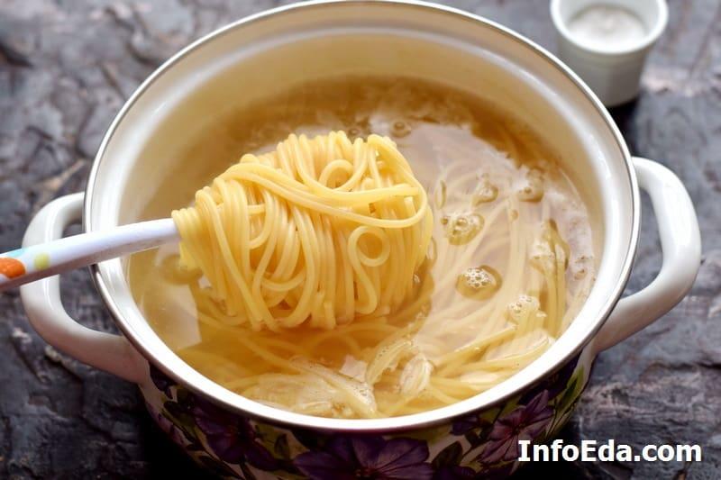 Проверяем спагетти на готовность