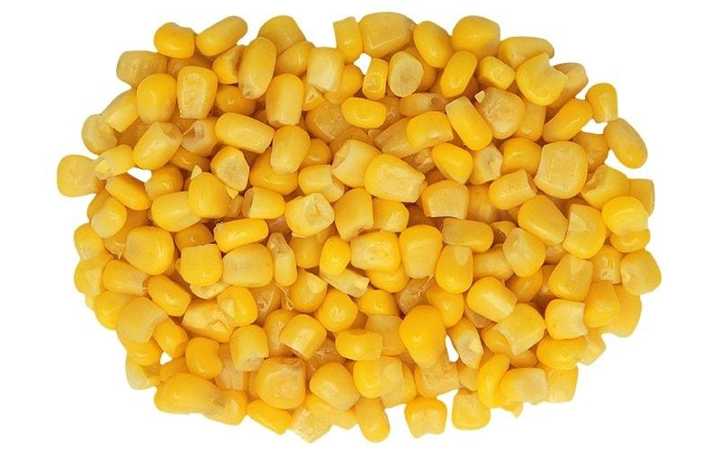 Как сохранить вареную кукурузу в зернах