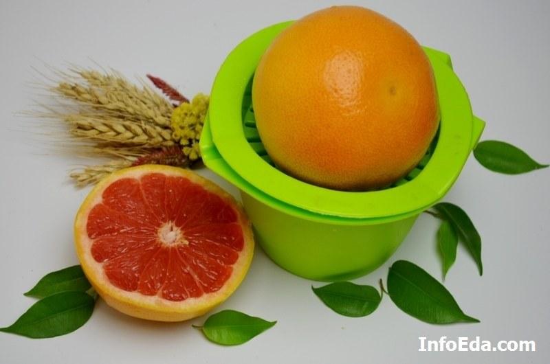 Выжимаем сок из грейпфрута