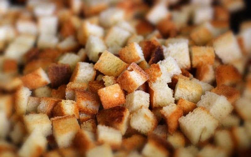 Как сушить сухари из хлеба