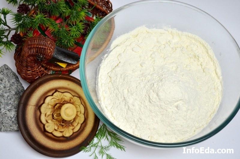 Пирожки с квашеной капустой мука