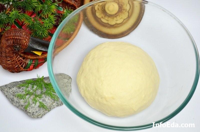 Пирожки с квашеной капустой тесто