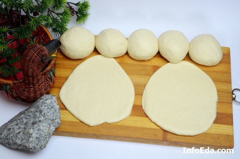 Пирожки с квашеной капустой шарики из теста
