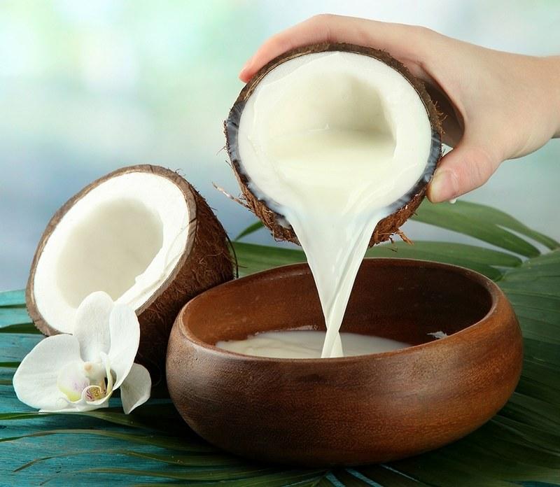 Применение кокосового молока