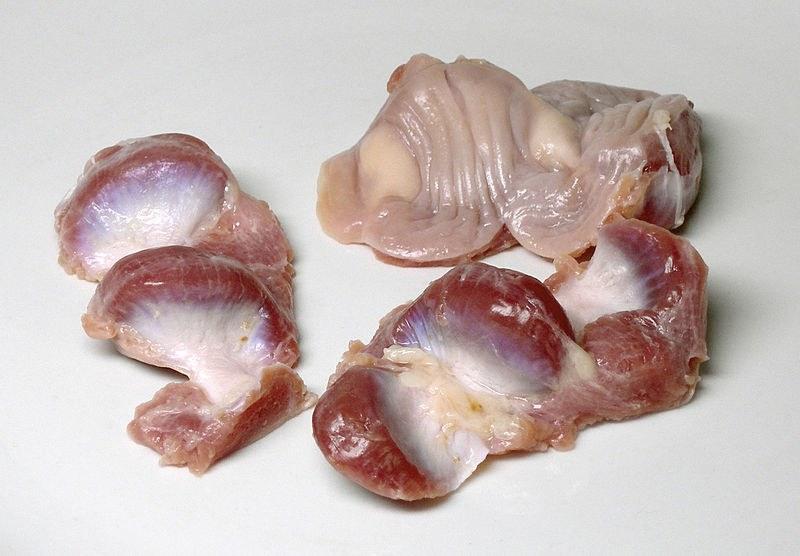 Куриные желудки - польза и вред