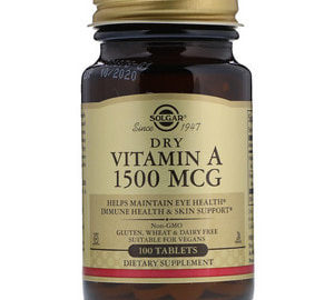 Solgar-Vitamin-А-1500-MCG-100