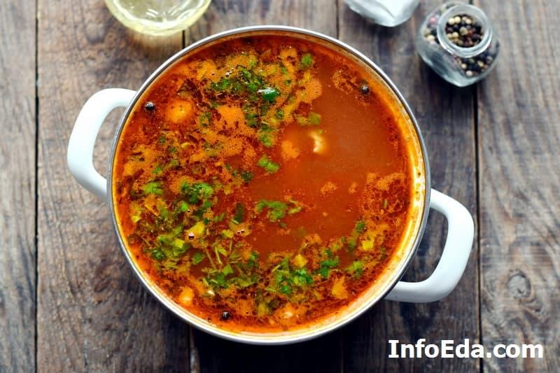 Суп харчо - готовый харчо