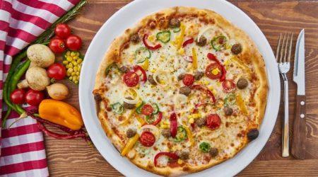 Сколько грамм в кусочке пиццы