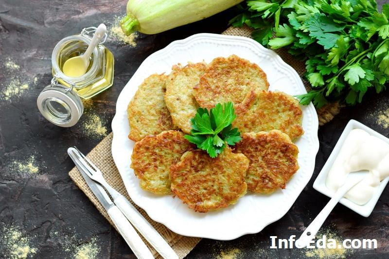 Картофельно-кабачковые оладьи драники