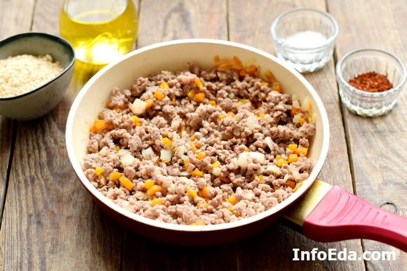 Картофельные зразы с фаршем - готовая мясная начинка