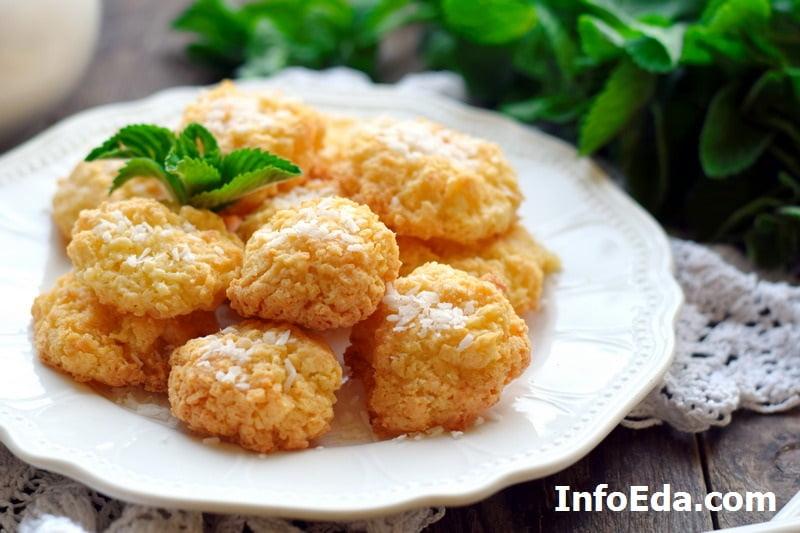 Кокосовое печенье без муки - Кокосанка