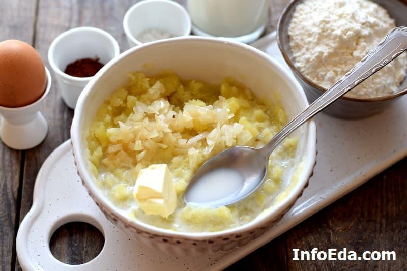 Кыстыбый - пюре из картошки