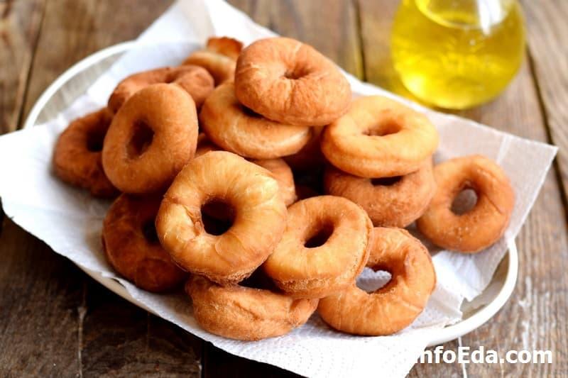 Пончики - жареные пончики