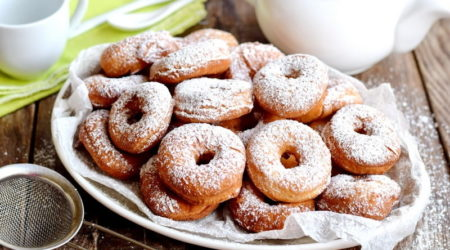 Классические пончики