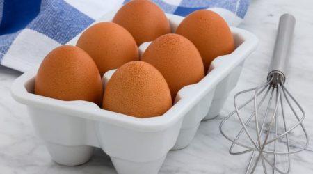 Сколько весит яйцо куриное