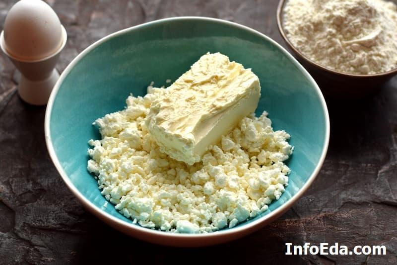 Печенье Гусиные лапки - творог и масло