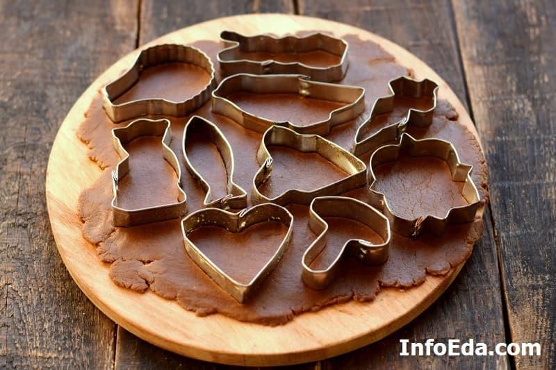 Имбирное печенье - формочки для печенья
