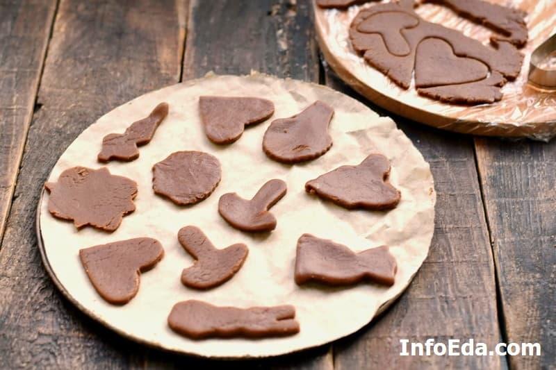 Имбирное печенье - заготовки печенья
