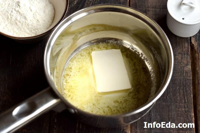 Соус Бешамель - сливочное масло