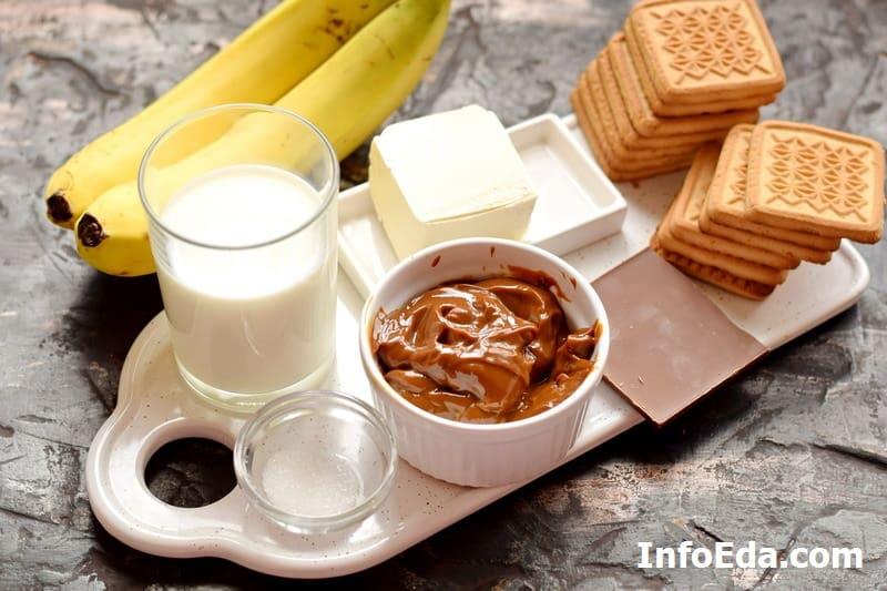 Ингредиенты для пирога Баноффи Пай
