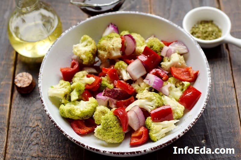 Овощи в масле