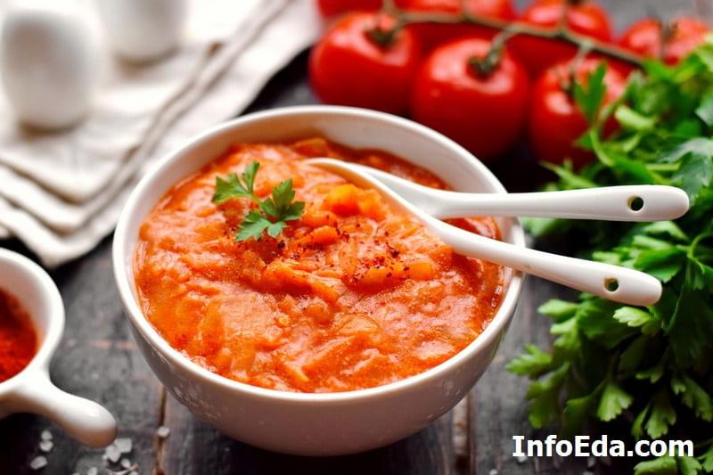Подлива для котлет из томатной пасты с мукой