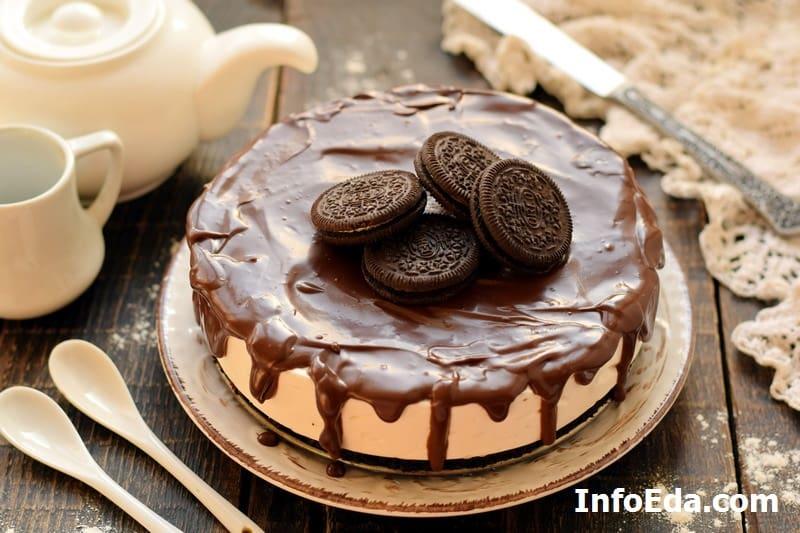 Торт Орео без выпечки