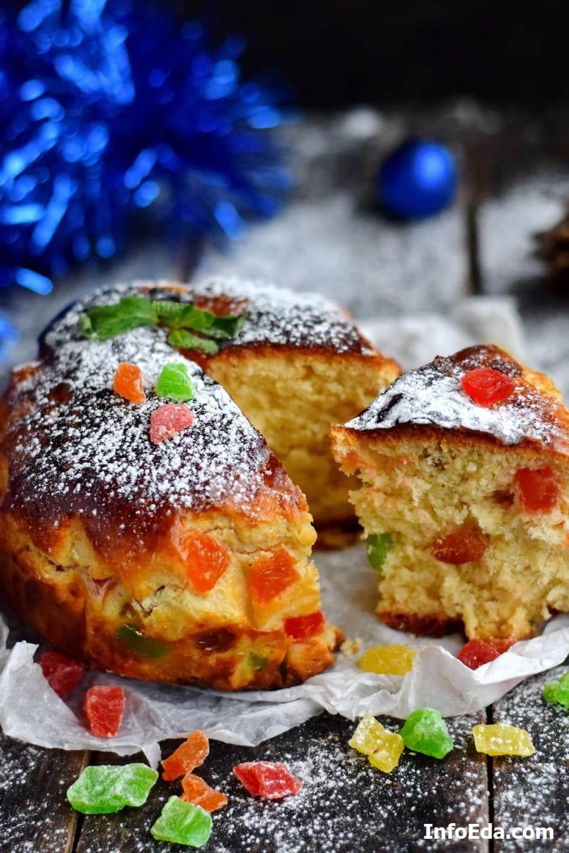 Панеттоне итальянский рождественский кекс