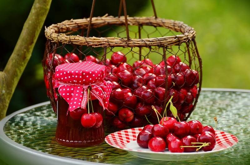 Сколько выходит варенья из кг вишни